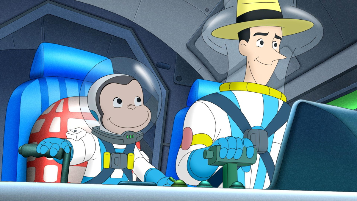 Curious George Blasts Off