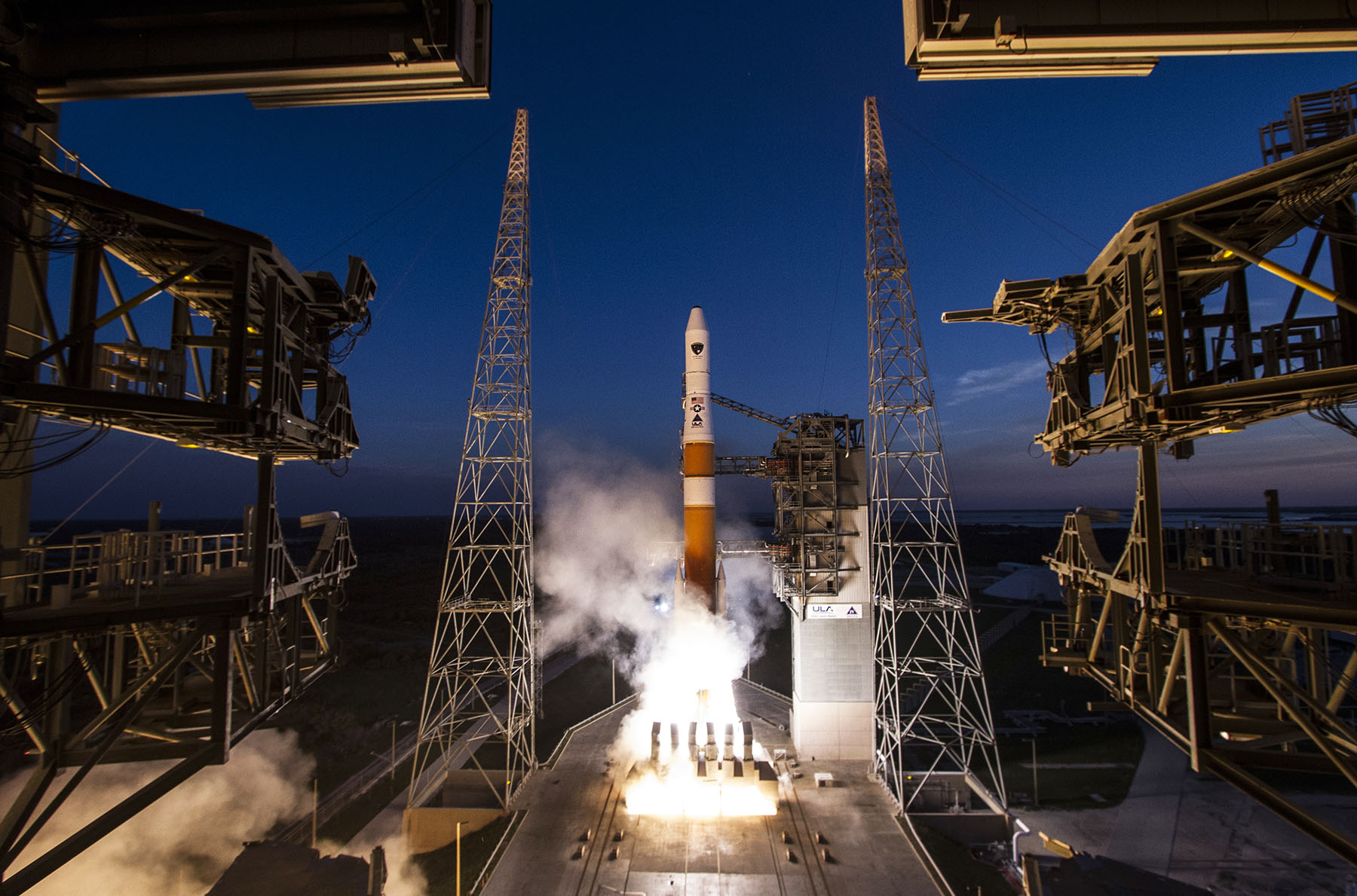 Lift-Off! Air Force Launches New GPS Satellite to Space