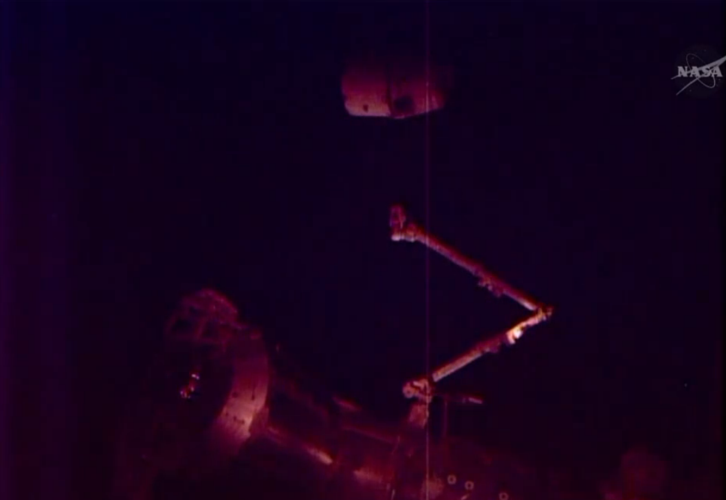SpaceX's Robotic Dragon Capsule Leaves Space Station for Earth