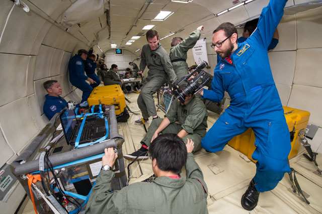 Defying Gravity: Eye-Opening Science Adventures On a Weightless Flight (Photos)