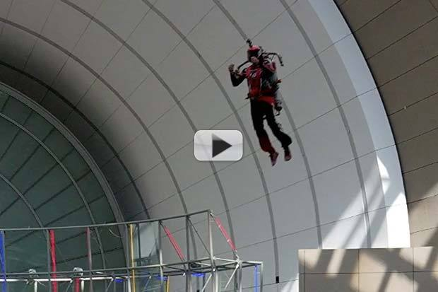 RAW VIDEO: Jetpack Demo at Smithsonian Future Is Here Festival