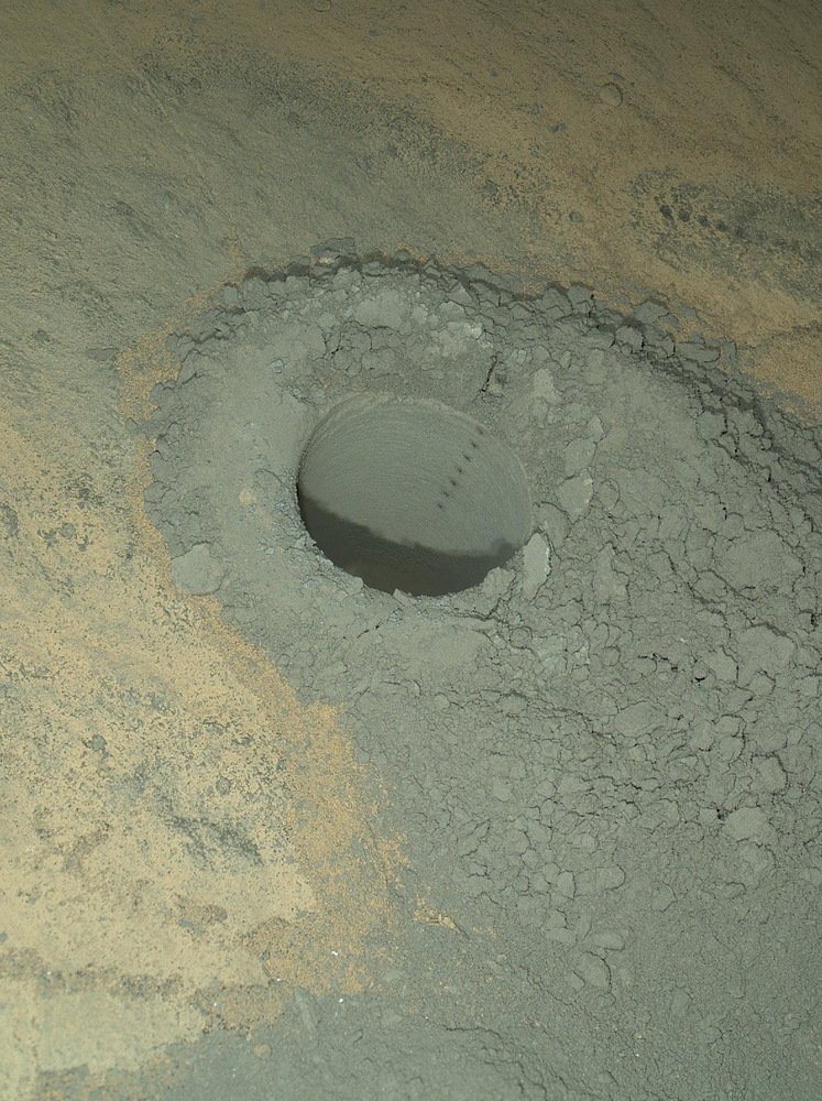 Mars Rover Curiosity Wraps Up Drilling Work, Prepares for Long Drive
