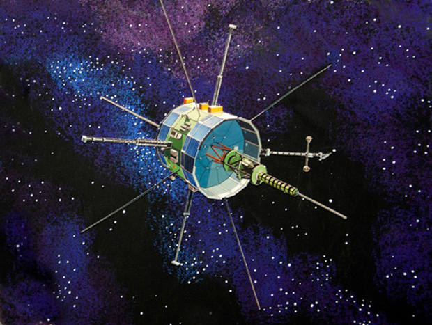 Artist's Concept of ISEE-3 (ICE) Spacecraft