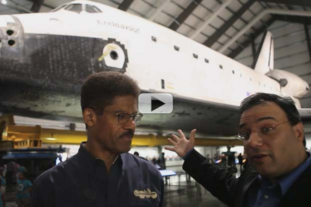 Space Shuttle Endeavour Will Go Vertical Again | Video Interview
