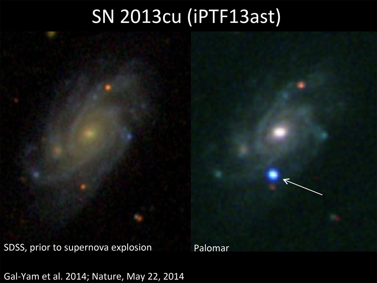 Supernova in Galaxy UGC 9379