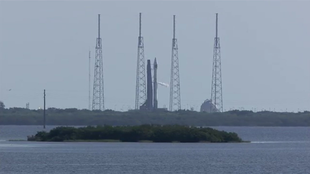 Atlas 5 Rocket to Launch NROL-33: On the Pad