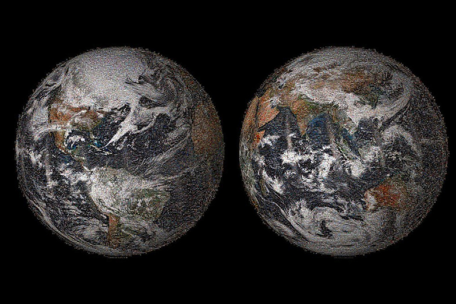 NASA Reveals 1st Global Selfie (Photo)