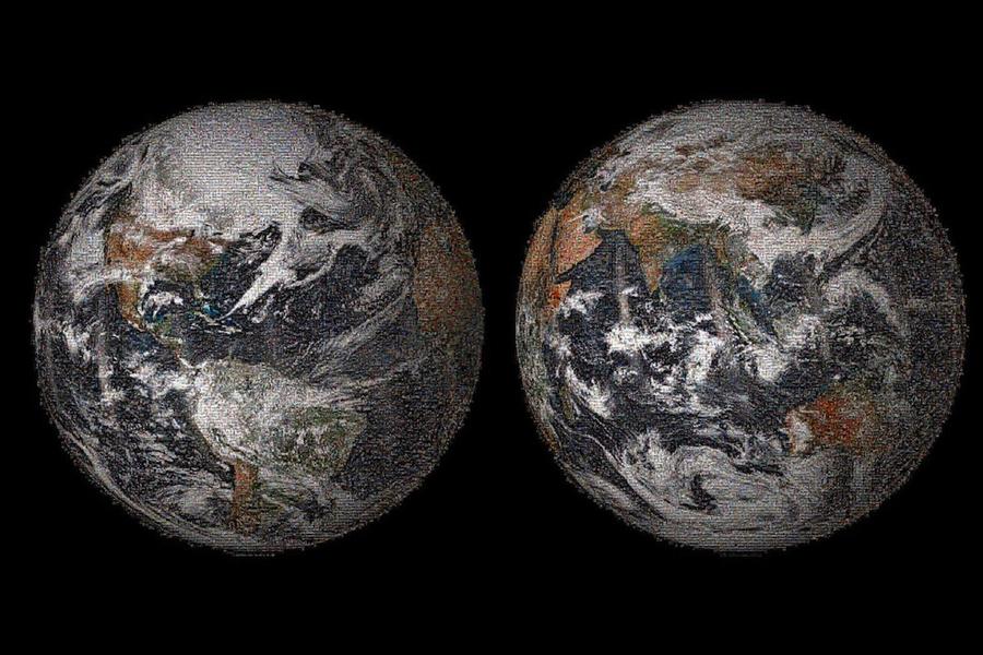 NASA Reveals 1st Global Selfie (Photo)