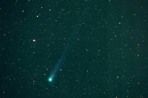 Comet Hyakutake on March 21, 1996.