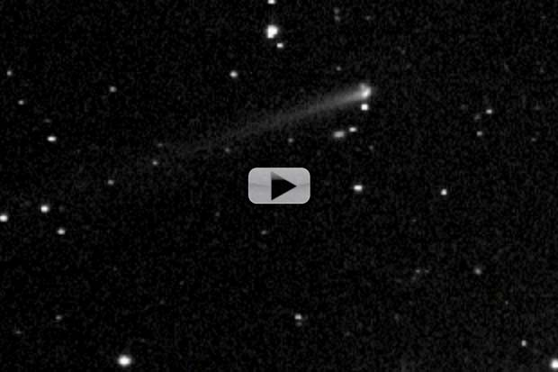 Comet 209P/LINEAR Spotted Night Of Meteor Shower | Video