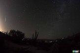 Photographer BG Boyd captured this photo of a meteor from the Camelopardalid meteor shower over Tucson, Arizona early on May 24, 2014. The meteor display was created by dust from Comet 209P/LINEAR.