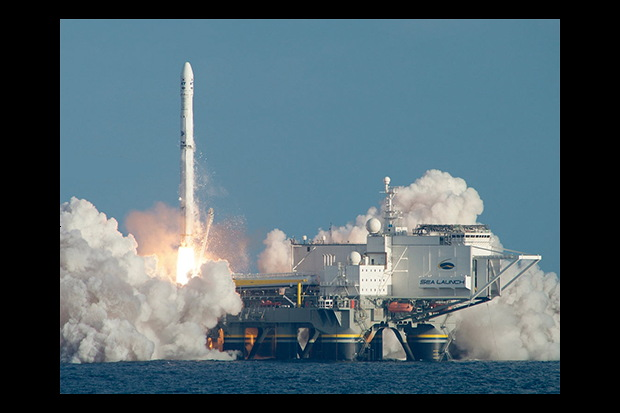 Sea Launch Lofts First Satellite in More Than a Year