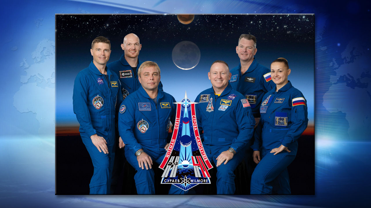 Expedition 41 Six-Member Crew