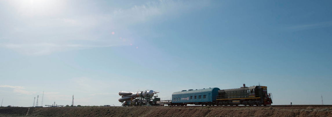 Transport of the Soyuz TMA-13M