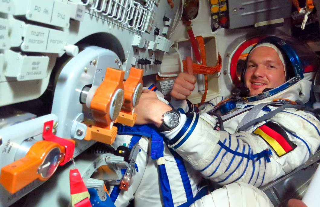 Inside the TMA-13M Soyuz