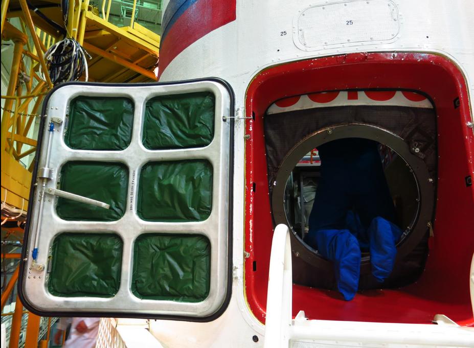 Climbing Through TMA-13M Soyuz