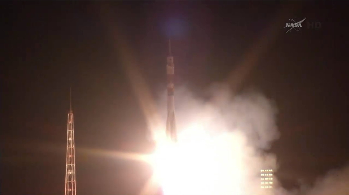 Expedition 40/41 Crew Launches to the International Space Station
