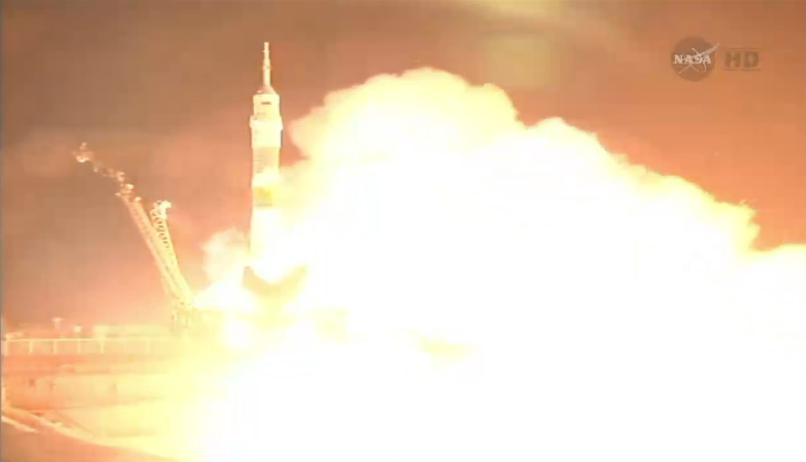 Expedition 40/41 Crew Launches to the International Space Station #2