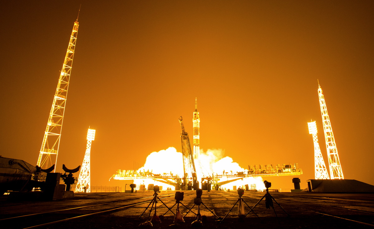 Expedition 40 Launch #2