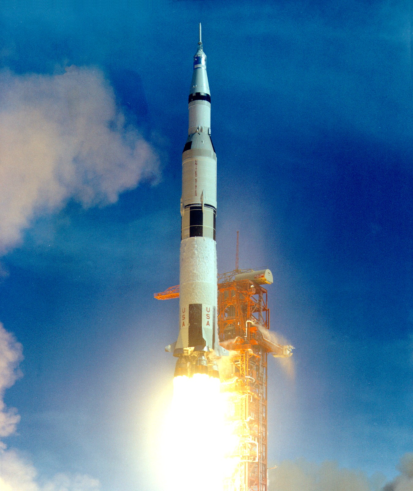 The Apollo Moon Rocket