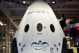 SpaceX's Dragon Version 2 spaceship is designed to be reusable. The company plans to conduct to tests of the vehicle's launch-abort system in November 2014 and January 2015. Image released May 29, 2014.