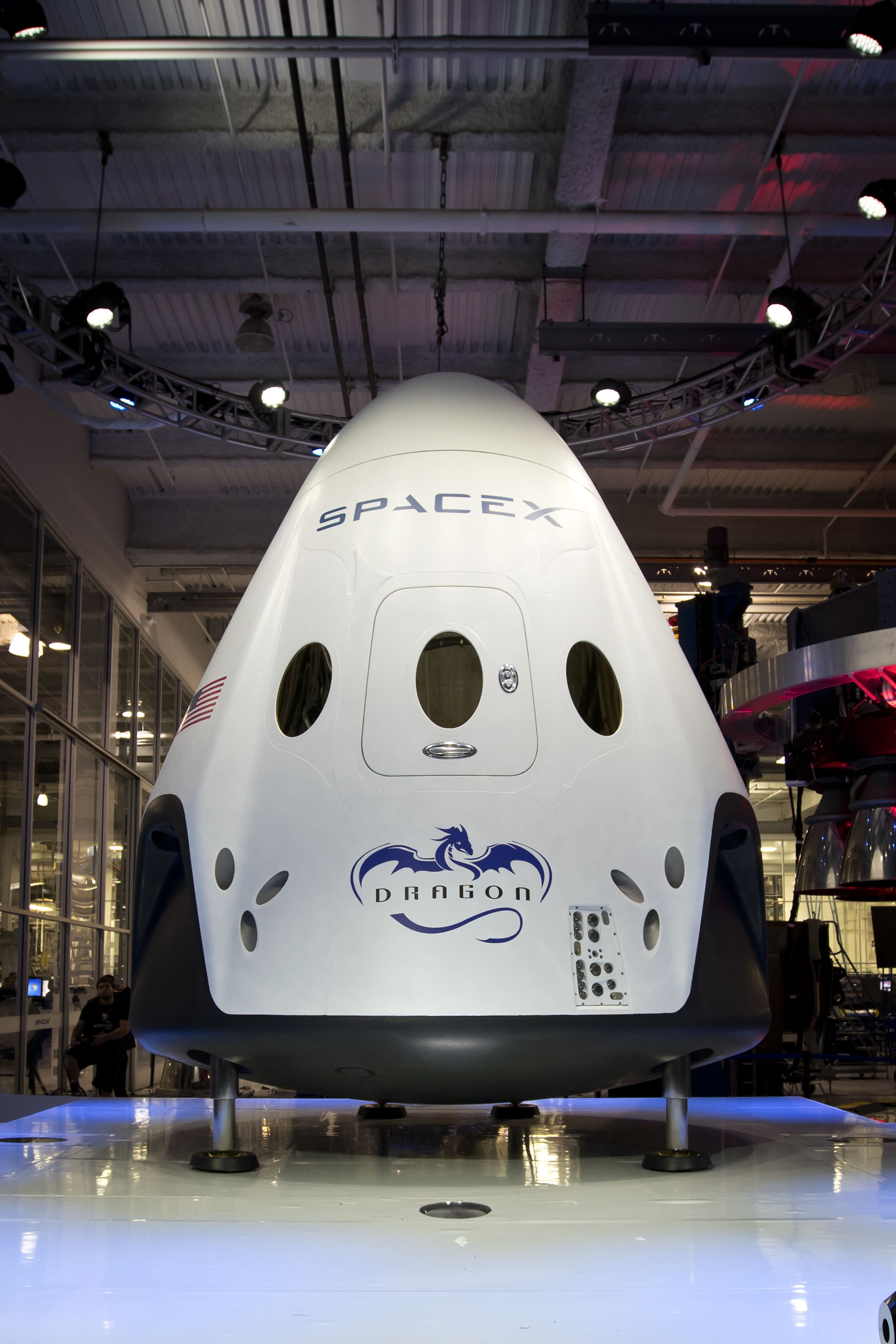 SpaceX's Manned Dragon