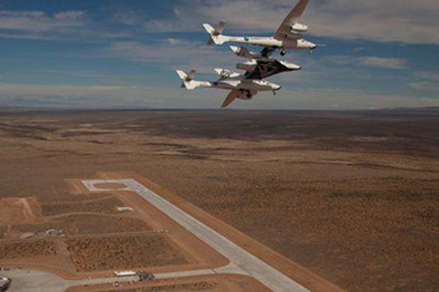 Virgin Galactic Signs FAA Deal to Clear Airspace for Suborbital Flights