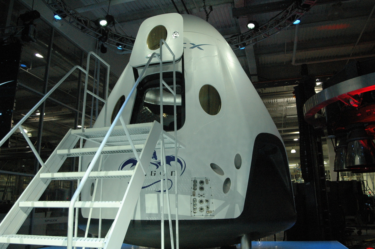 SpaceX's Dragon V2 Capsule Unveiled