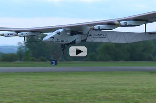 Long-Haul Solar Plane Makes Maiden Voyage | Video