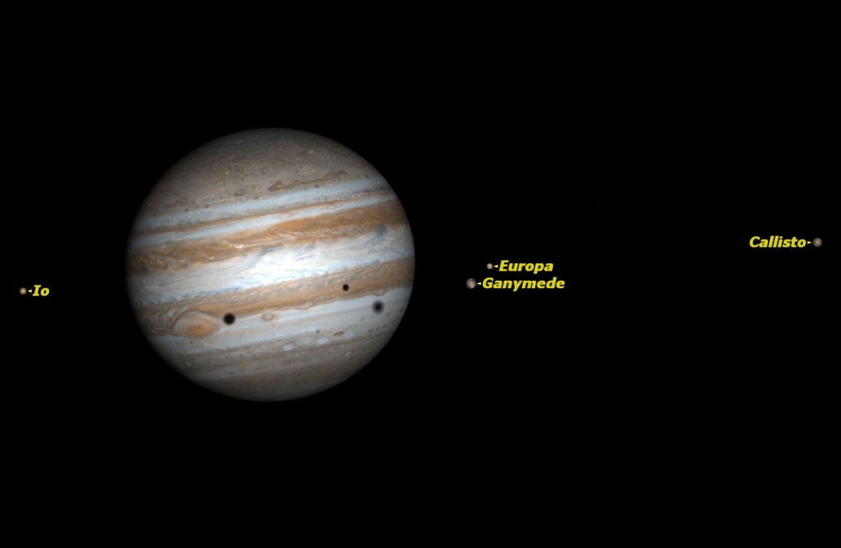 Jupiter Bids Farewell to Evening Sky After Sunday Moon Meetup