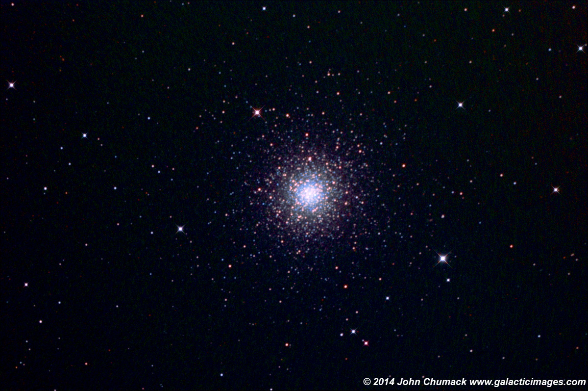 M3 Globular Star Cluster by Chumack