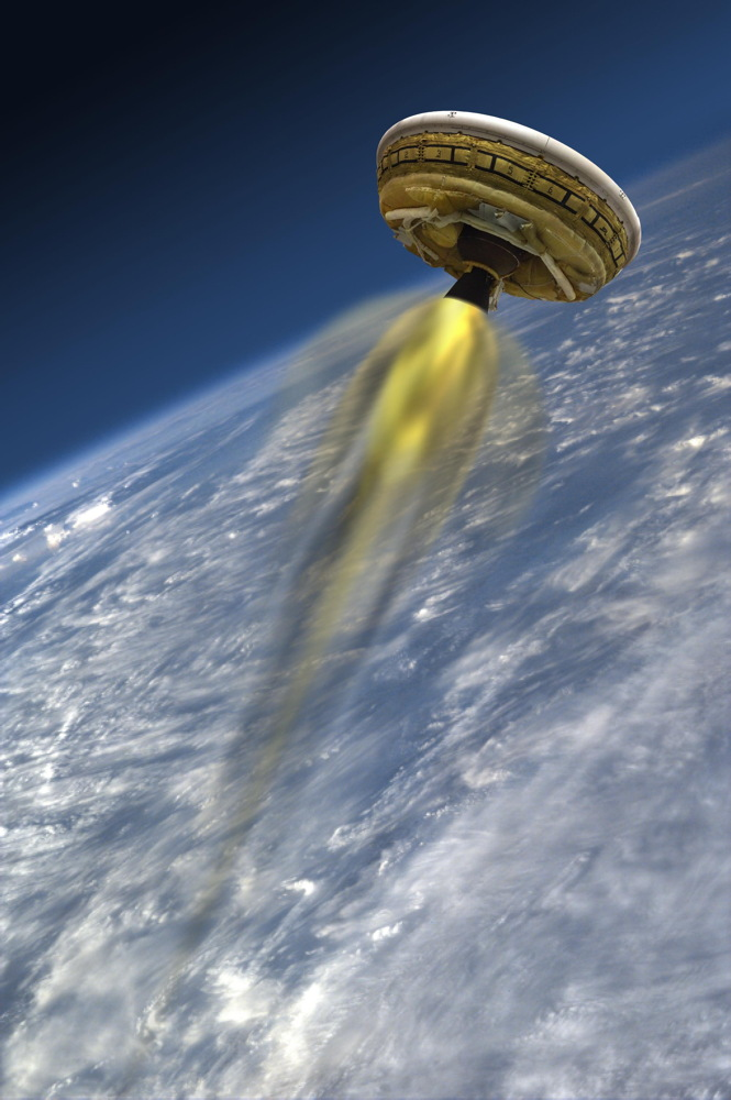 LDSD's Rocket-Powered Test Vehicle