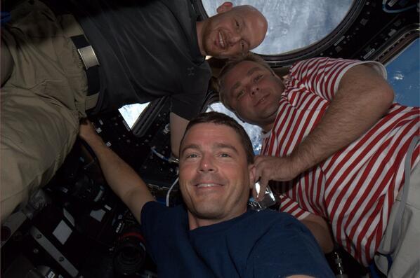Reid Wiseman Takes a Selfie
