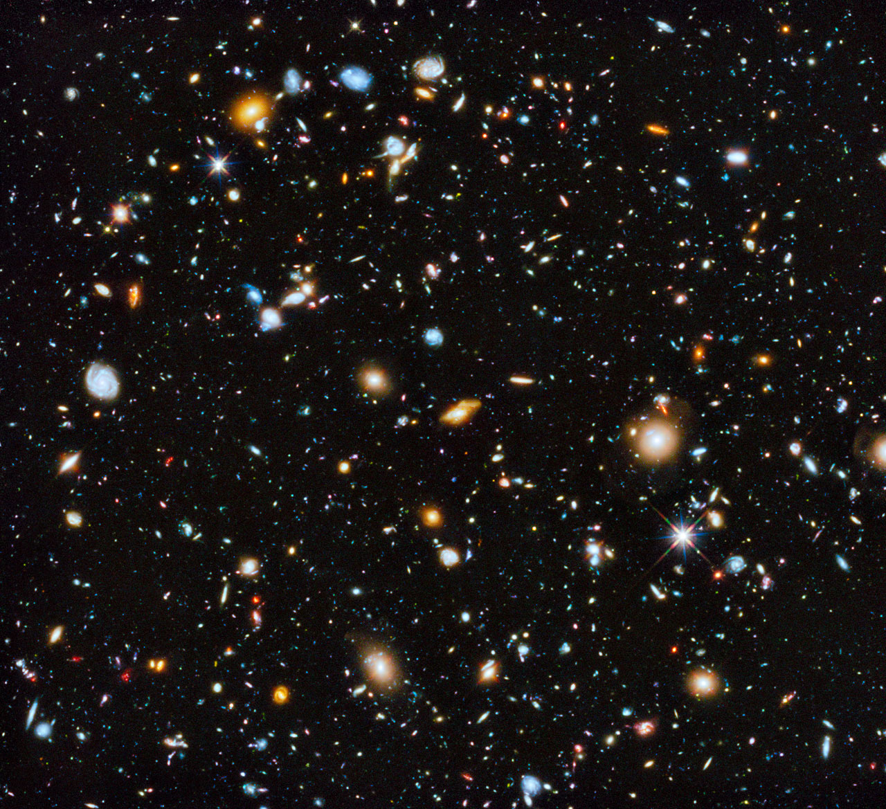 Colorful Hubble Telescope Image Is Best-Ever View of Universe's Evolution (Video)