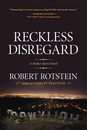 "Cover for the new novel ""Reckless Disregard"" (Seventh Street Books, 2014)."