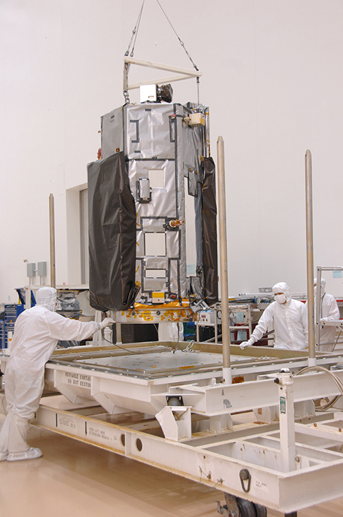 Orbiting Carbon Observatory-2 Prepared for Shipment