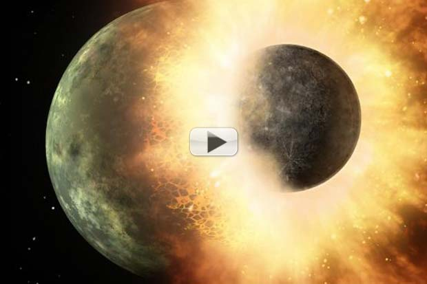 Moon Made by Giant Impact with Earth - New Evidence | Video