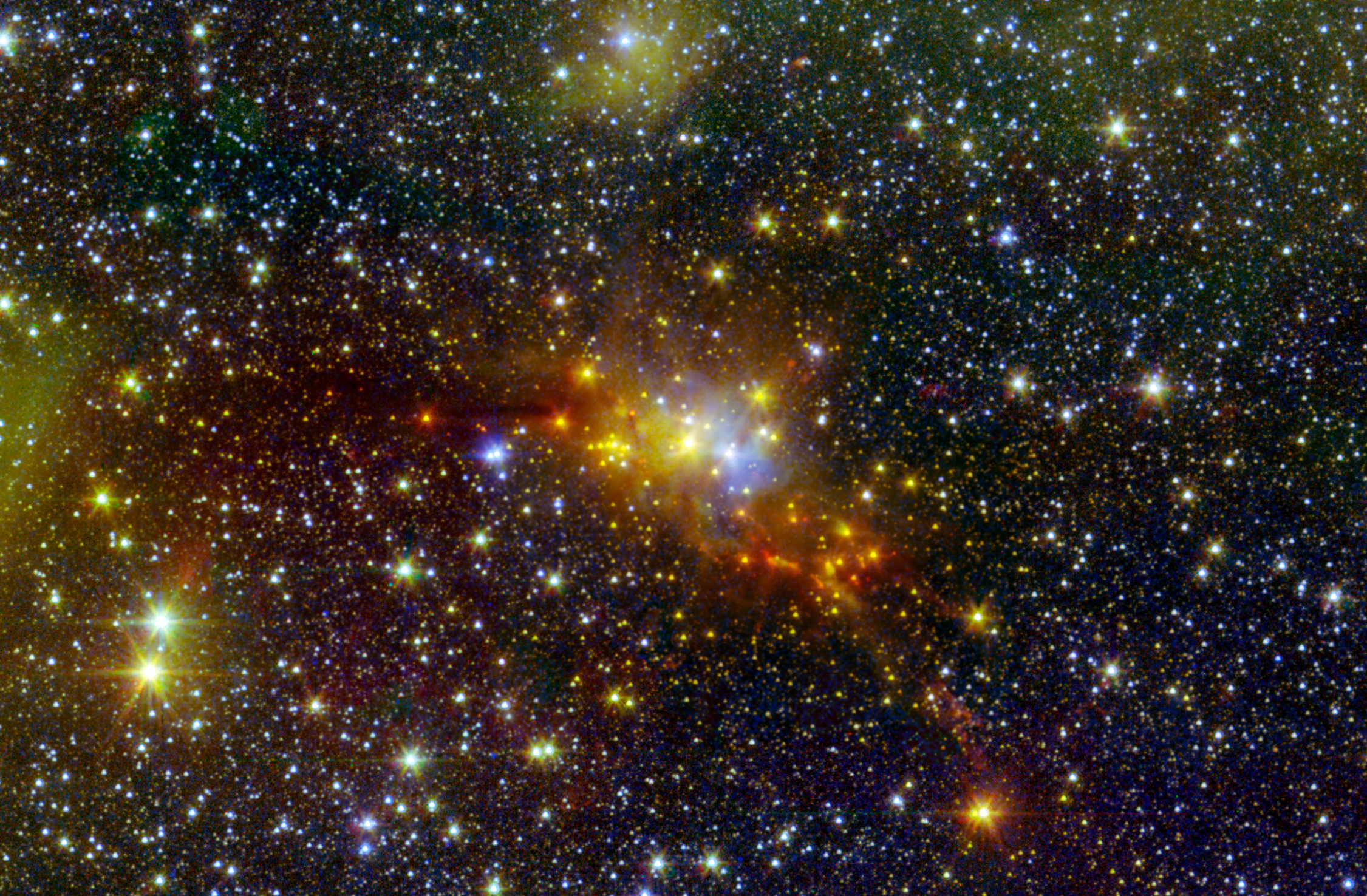 Space Telescope Spots Baby Stars Inside Celestial Snake (Photo)