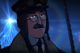 "The final episode of ""Cosmos: A Spacetime Odyssey"" retells the story of Viktor Hess, who discovered cosmic rays from a hot-air balloon, in an animated short."