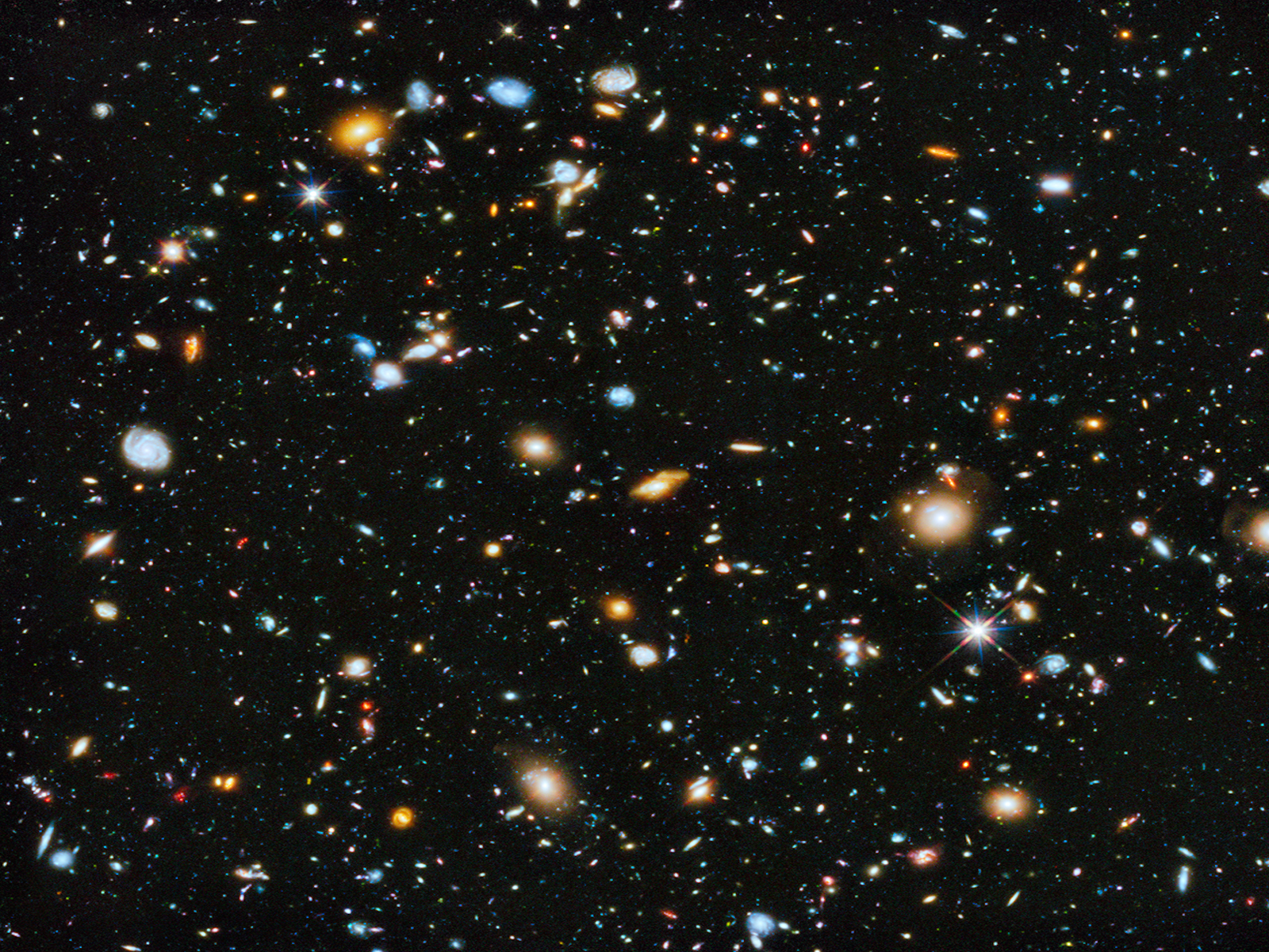 Hubble Ultra Deep Field 2014 - 1600