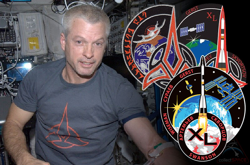 Astronaut's Cloaked Klingon Space Patch: Star Trek-Inspired Emblem Revealed