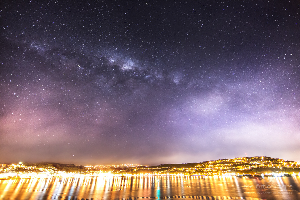 Milky Way Over Evans Bay