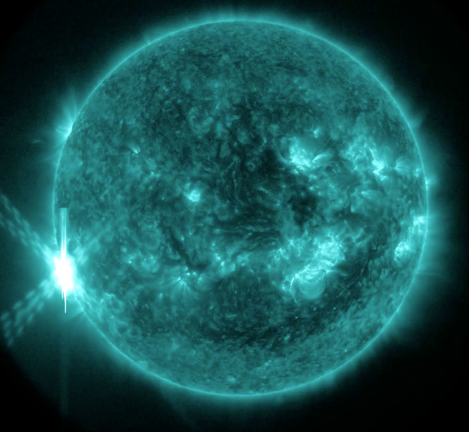 X2.2 Solar Flare of June 10, 2014: Full Disk