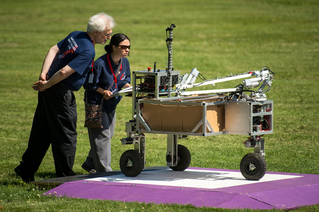 Autonomous Robots to Battle for $1.5 Million NASA Prize