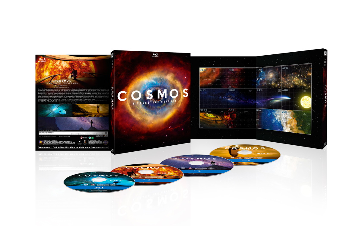 'Cosmos: A Spacetime Odyssey' Warps Into Stores Today