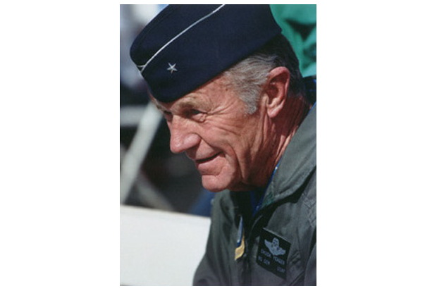 Chuck Yeager Portrait