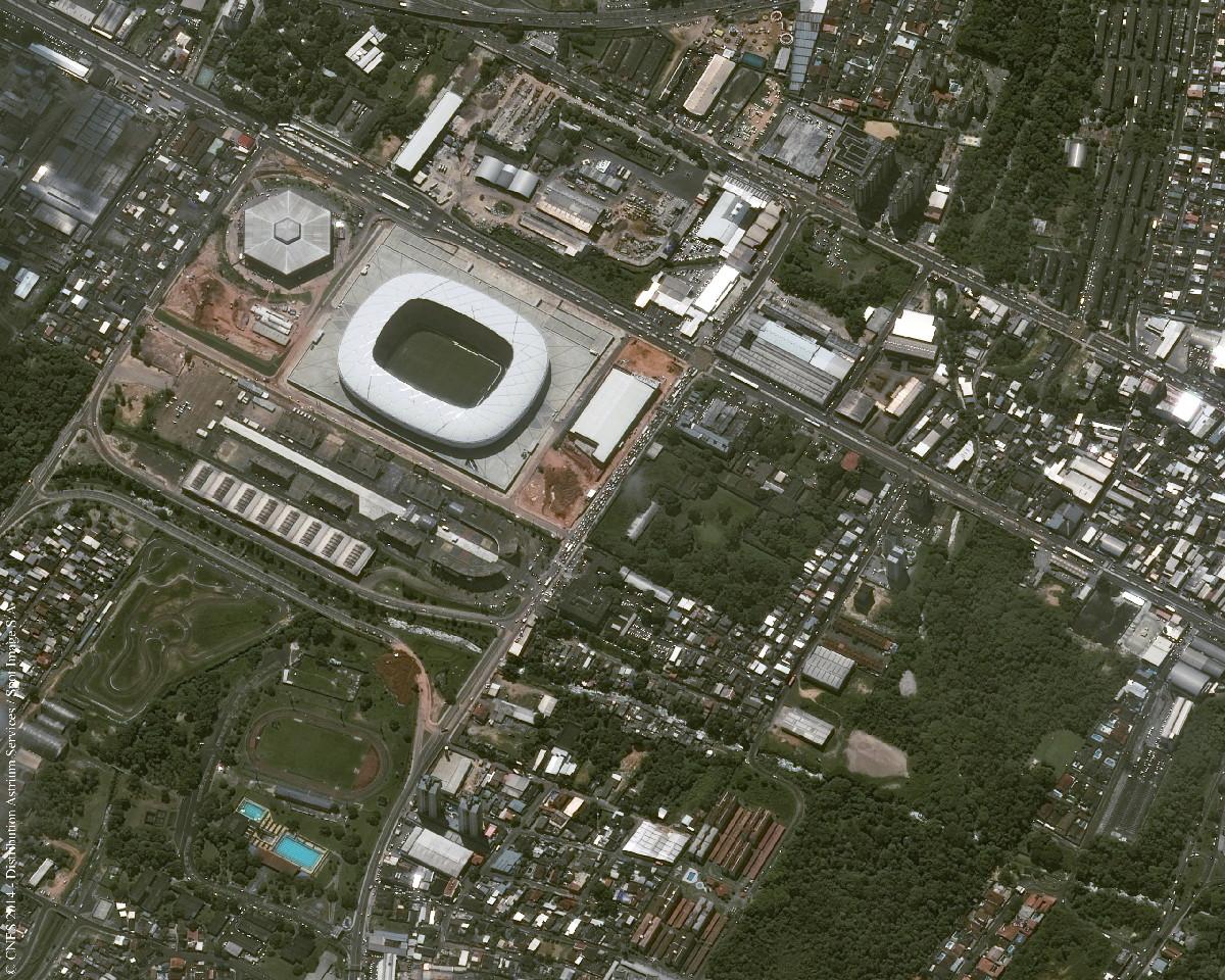 Arena Amazônia, Manaus
