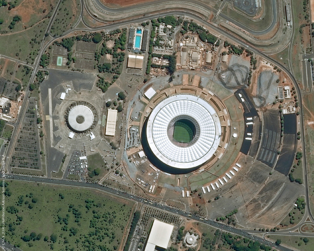 Estádio Nacional Mané Garrincha, Brasilia