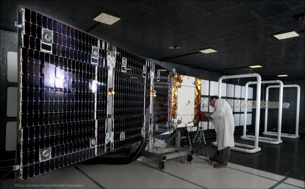 OG2 Satellite Electro-Magnetic Compatibility Testing