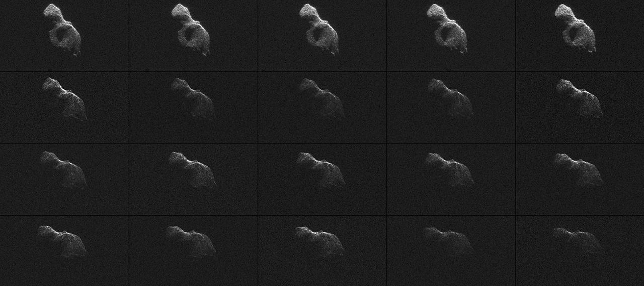 'The Beast' Asteroid Seen in Amazing Detail (Photos, Video)